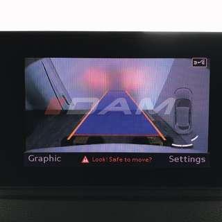 Audi Genuine Part: AUDI 8V A3 / S3 / RS3 Facelift Genuine Reverse Camera