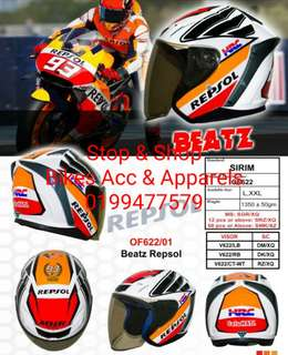 Helmet MHR Beatz Repsol
