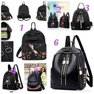 Tas punggung wanita backpack import
