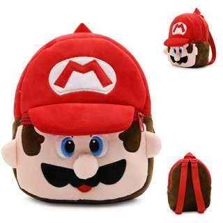 Mini Cartoon Backpack (Mario) #easter20
