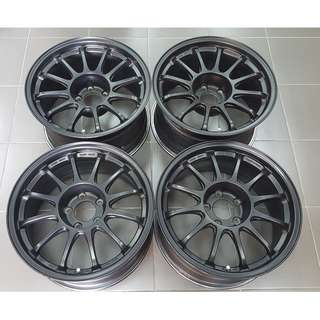 "SSR Type F 17"" 8.5jj 32 9.5jj 10 5H 114 Original JAPAN"