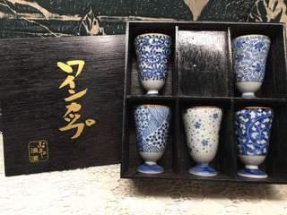 浪漫 Teacup Set of 5