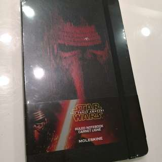 Moleskine Star Wars Ruled Notebook