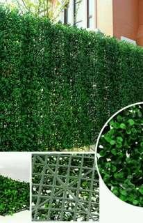 Daun Rumput Sintetis Untuk Dekorasi Taman Dinding Tembok