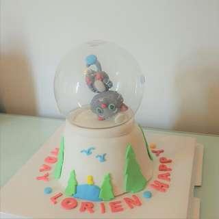 水晶球蛋糕