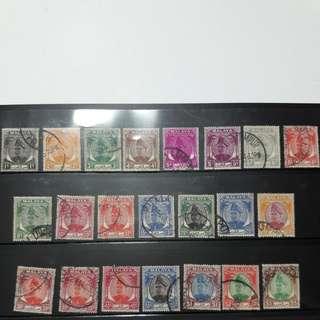 Selangor 1949 stamps