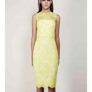 ALEX PERRY Abelle Lace Dress RRP$700