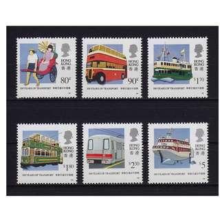 香港1991交通百年發展