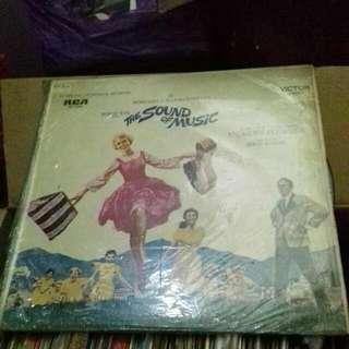 Vinyl Black Record