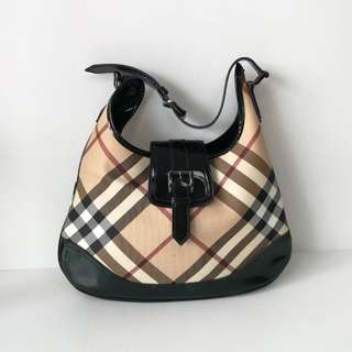 Authentic Burberry Hobo Bag