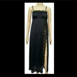 Vintage Olga Long Nightgown Nightie Lingerie