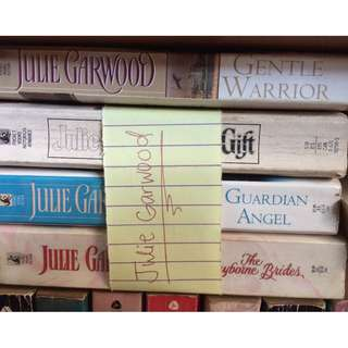 Julie Garwood books (12 currently in possession)