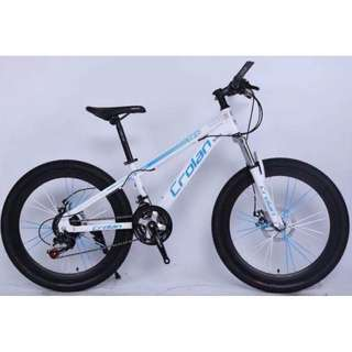 Brand new CROLAN 24'' MTB Bike / Bicycle with , Sports rims,Disc brakes ,Suspension & 21-Speed /Gears etc