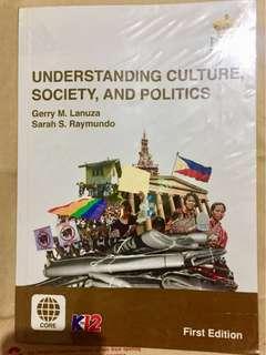 K12 Understanding Culture Society Politics Textbook