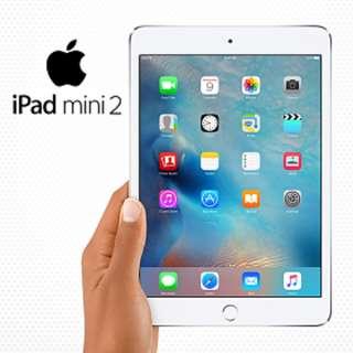 美版原封 APPLE 翻新品 iPad mini 2 Wi-Fi + Cellular 16GB - 銀色 (官方有保)