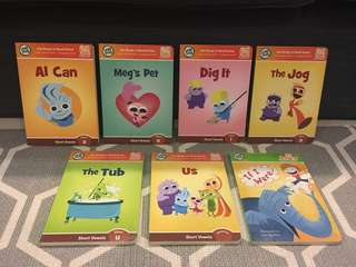 Leap Frog (Tag Learn to Read System) story book series/ preschool learning & education/ phonics skills