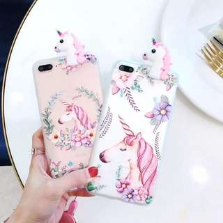 (po) OPPO/IPHONE unicorn TPU case