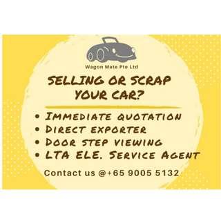 Selling or scraping you car