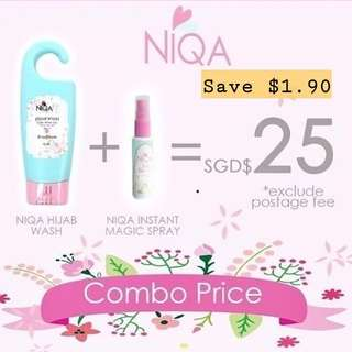 Niqa instant magic spray / hijab wash