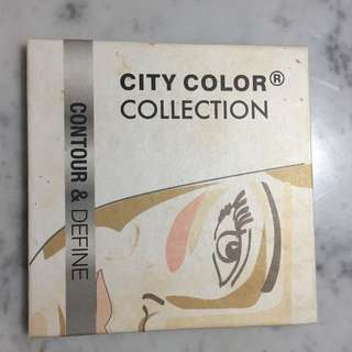 contour and define city color