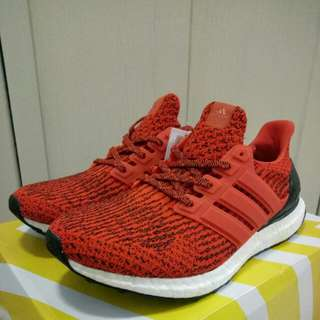 🔥UK8🔥 Energy Red Adidas Ultra Boost Ultraboost 3.0