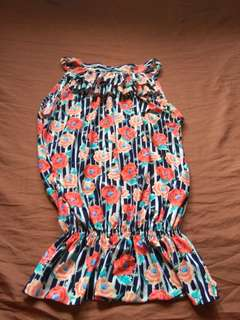Summer sleeveless blouse1