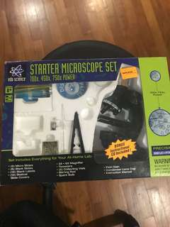 Microscope Set 750X