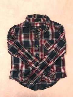 Plaids Long Sleeve