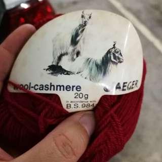 瑞士毛冷 Yarn made in Switzerland