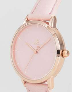 [預訂]Debossed Marker Pink Watch