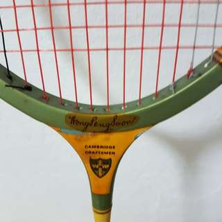 Vintage collectible badminton racket