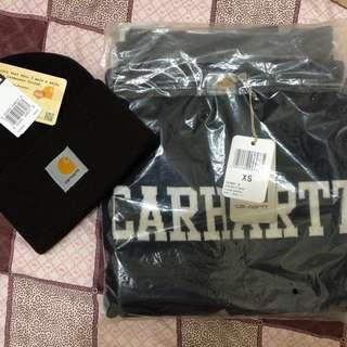 🚚 [全新] Carhartt毛衣+毛帽組合❤️