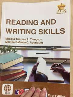 Reading and Writing K12 SHS