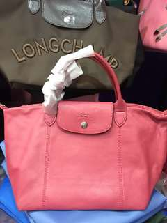 Authentic longchamp cuir Small