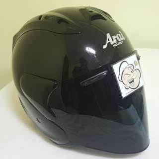 2703♡♡TSR RAM4 Black + Dark Visor  Helmet CONVERT TO ARAI 🦀 For SALE, Yamaha Jupiter, Spark, Sniper,, Honda, SUZUKI