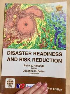 Disaster Readiness Risk Reduction K12 SHS