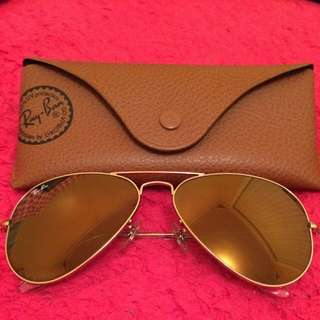 Ray Ban Aviator--RB3025 Aviator Large Metal W3276