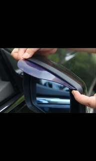 Car side mirror shade/visor (one pair)