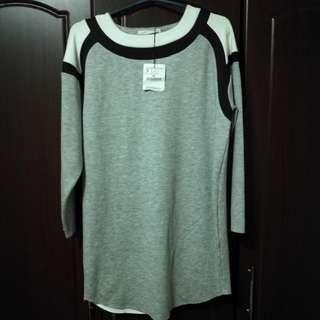 Zara Gray Modern Dress