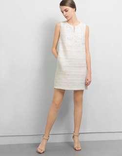 Saturday Club white dress