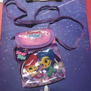 Shimmer shine mini sling bag