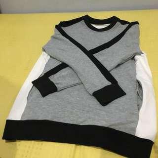 👱🏻MAN👱🏻 Sweater (Grey, White, and Black)