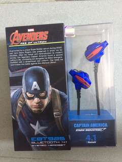 Original Marvel Captain America Bluetooth headset special offer ( last one )