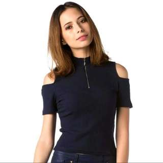 Nichii cut shoulder top