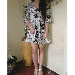 Cottony mini dress