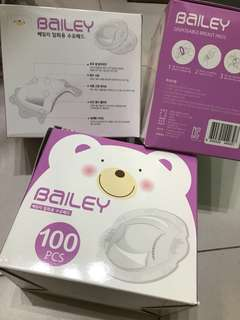 BN bailey 100 pcs disposable breast pads