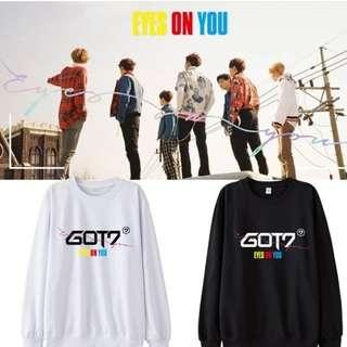 Preorder - GOT7 Eyes On You Sweatshirt *S-3XL* exc.pos