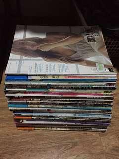 Fhm magazine 34pcs