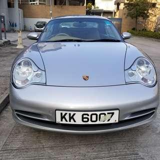 Porsche 2001 996 Carrer C2 Cab,行1字,電皮座,+/-波,電軟蓬,付送硬頂