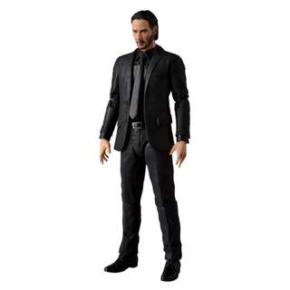 [PRE ORDER] Medicom - Mafex Series Miracle Action Figure EX No 070 - John Wick - 1/12 Collectible Action Figure